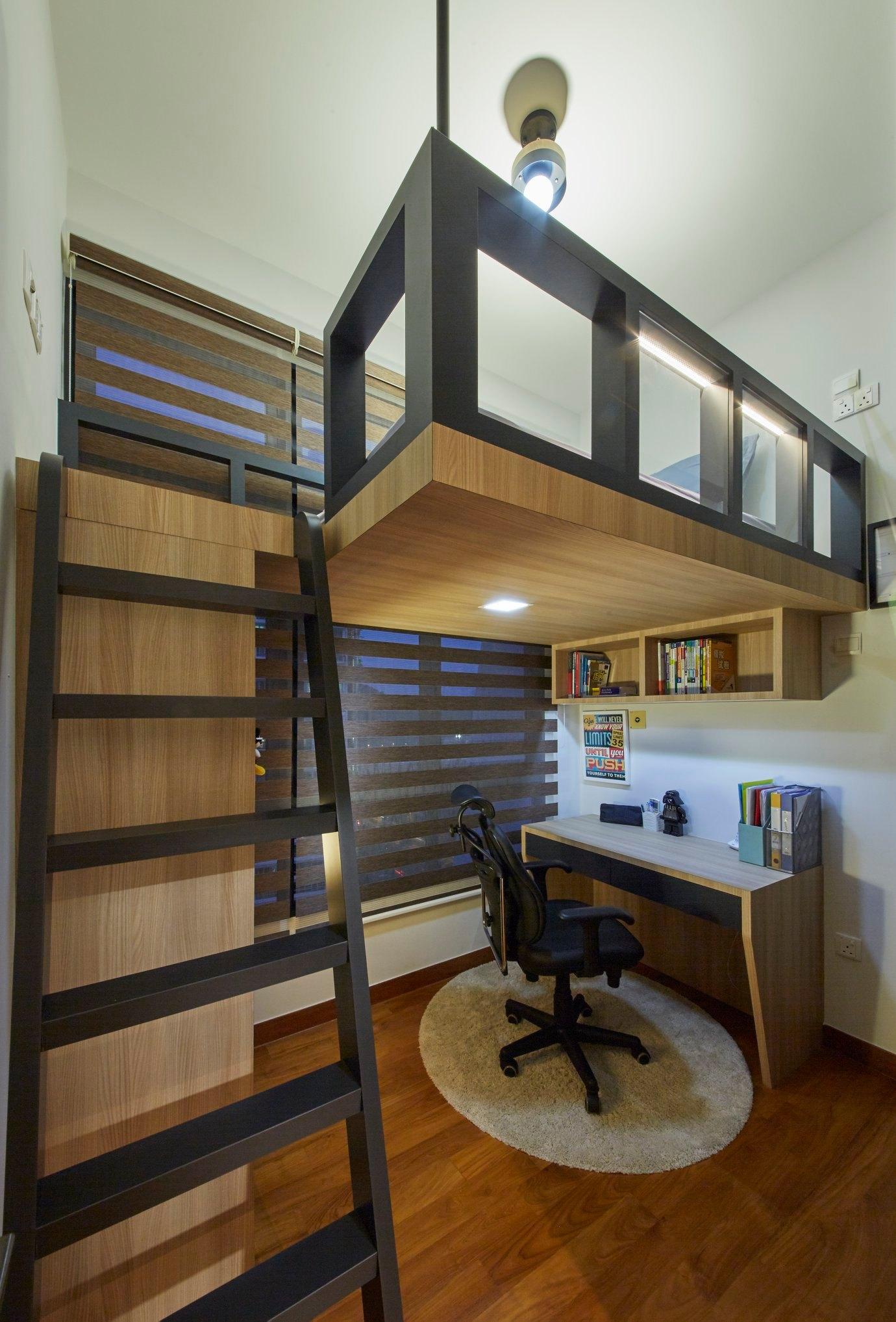 loft in bedroom