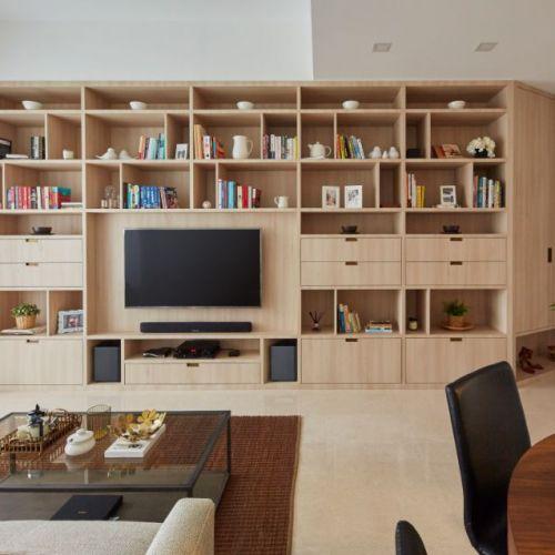 Carpenters top interior design company living room renovation