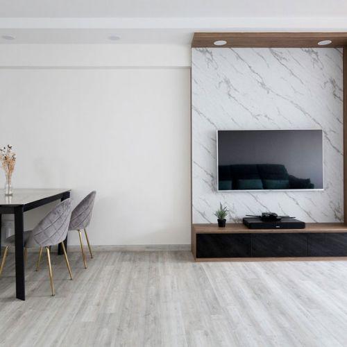 Carpenters top interior design company renovation living room